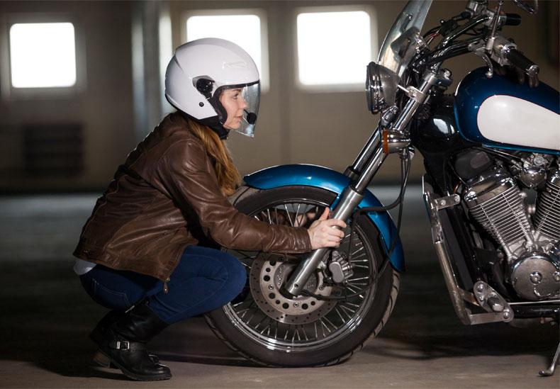 Motorradfahrersicherheit